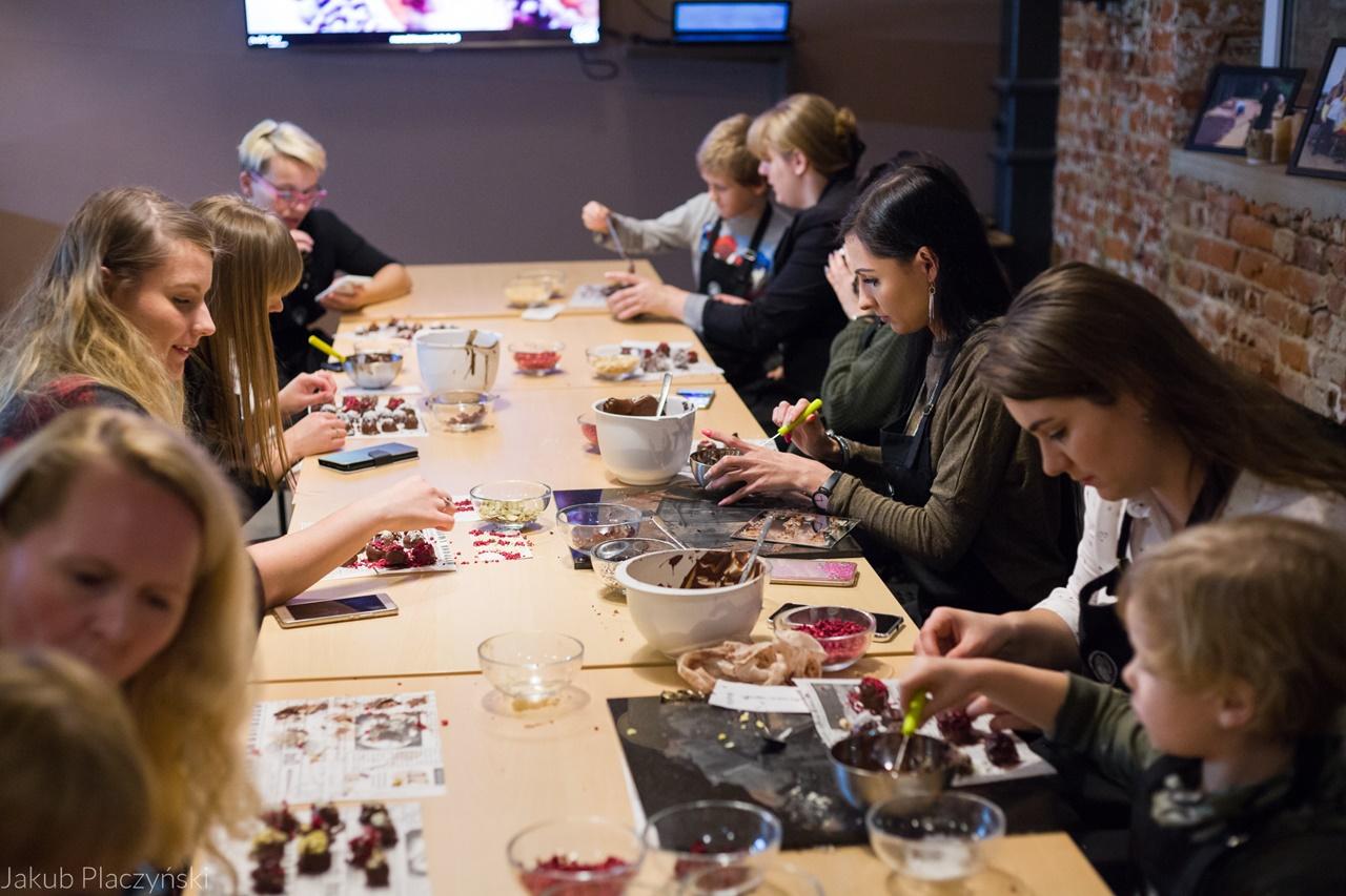 21 relacja spotkanie blogerek w manufakturze czekolady łodzkie blogerki lifestyle pomysł na prezent świąteczny dla dorosłych i dla dzieci