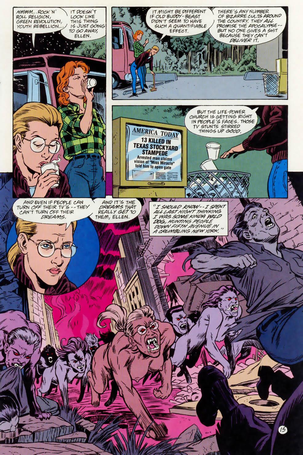 Read online Animal Man (1988) comic -  Issue #74 - 16