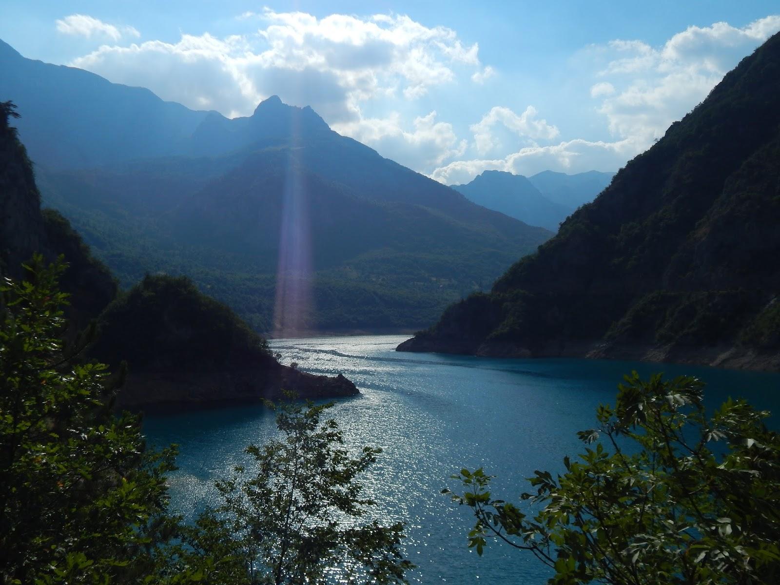 Pivské jezero Bosna a Hercegovina
