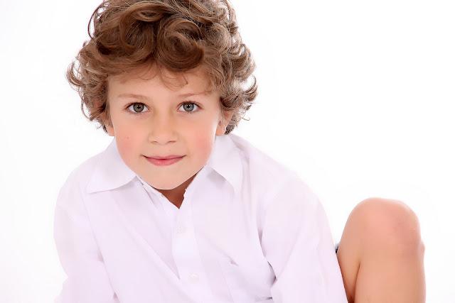 book fotografico modelo infantil
