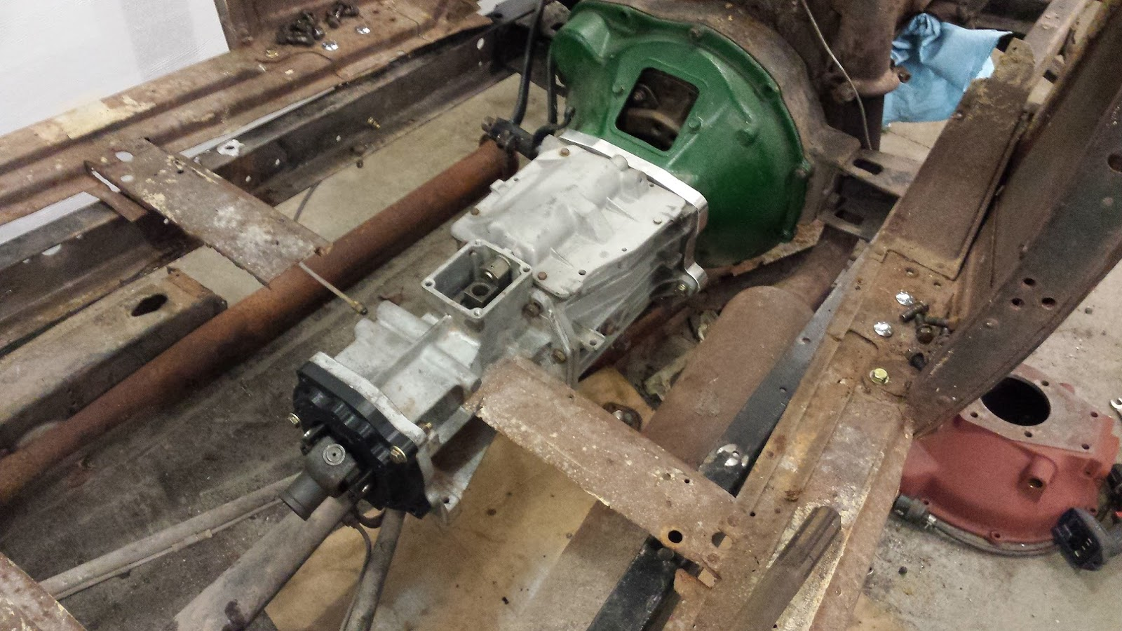 Ford Flathead T5 Transmission Adapter ✓ Ford is Your Car
