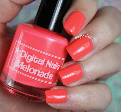 Digital Nails Melonade | Creme a la Mode Box #4 • Summer 2016