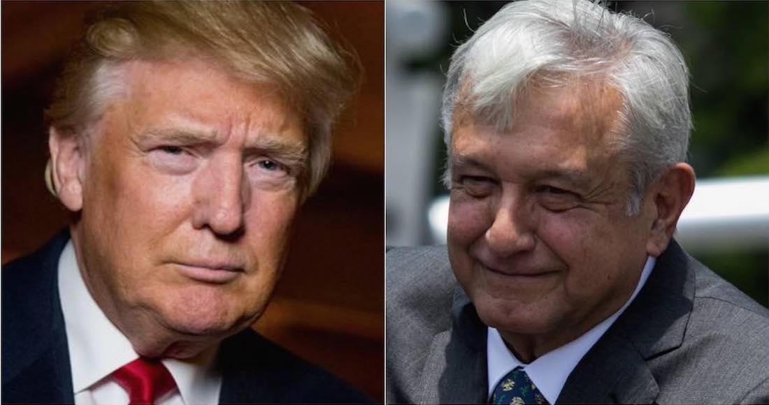 """El nuevo Presidente de México ha resultado un """"absoluto caballero""""; Canadá… que espere: Trump"""