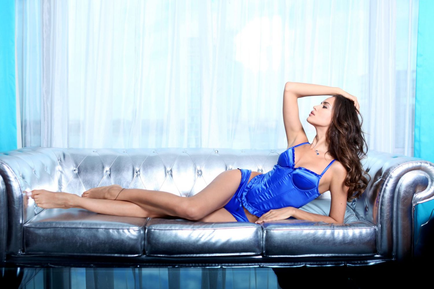 Irina Shayk goes seductive for new lingerie photoshoot