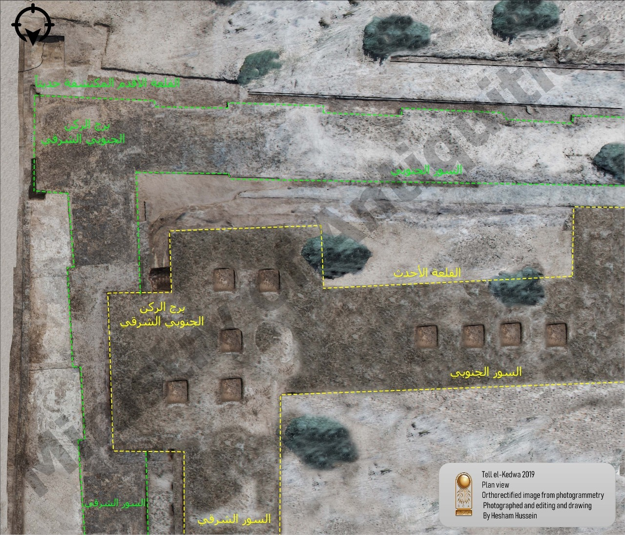 Part of 26th Dynasty fortress uncovered in North Sinai - The
