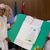 "MPNAIJA GIST:Photos Pres Buhari receives a ""Get Well Soon"" card from state governors"