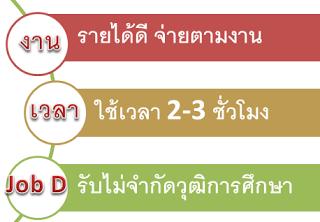 งานพาสทามปี 2558-2559 คีย์ข้อมูลออนไลน์ หารายได้เสริม งานทำที่บ้าน จ่ายรายวัน