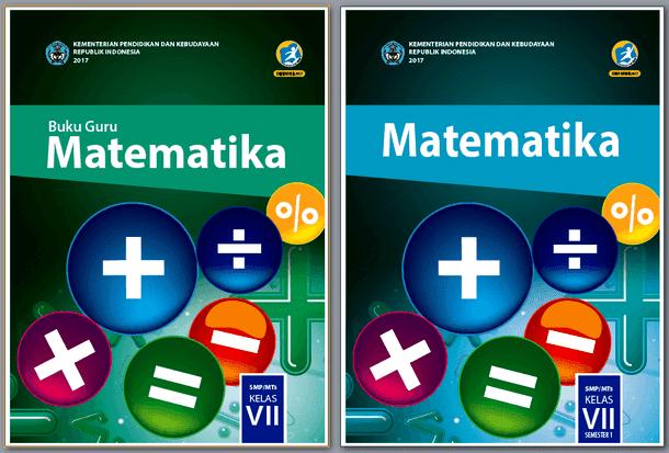 Buku Matematika Kurikulum 2013 untuk Guru dan Siswa Kelas VII (7) SMP/MTs Revisi 2017