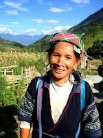 Sapa, Vietnam, ethnic minorities, black Hmong, Dao, Zay,Tay, minorité éthnique
