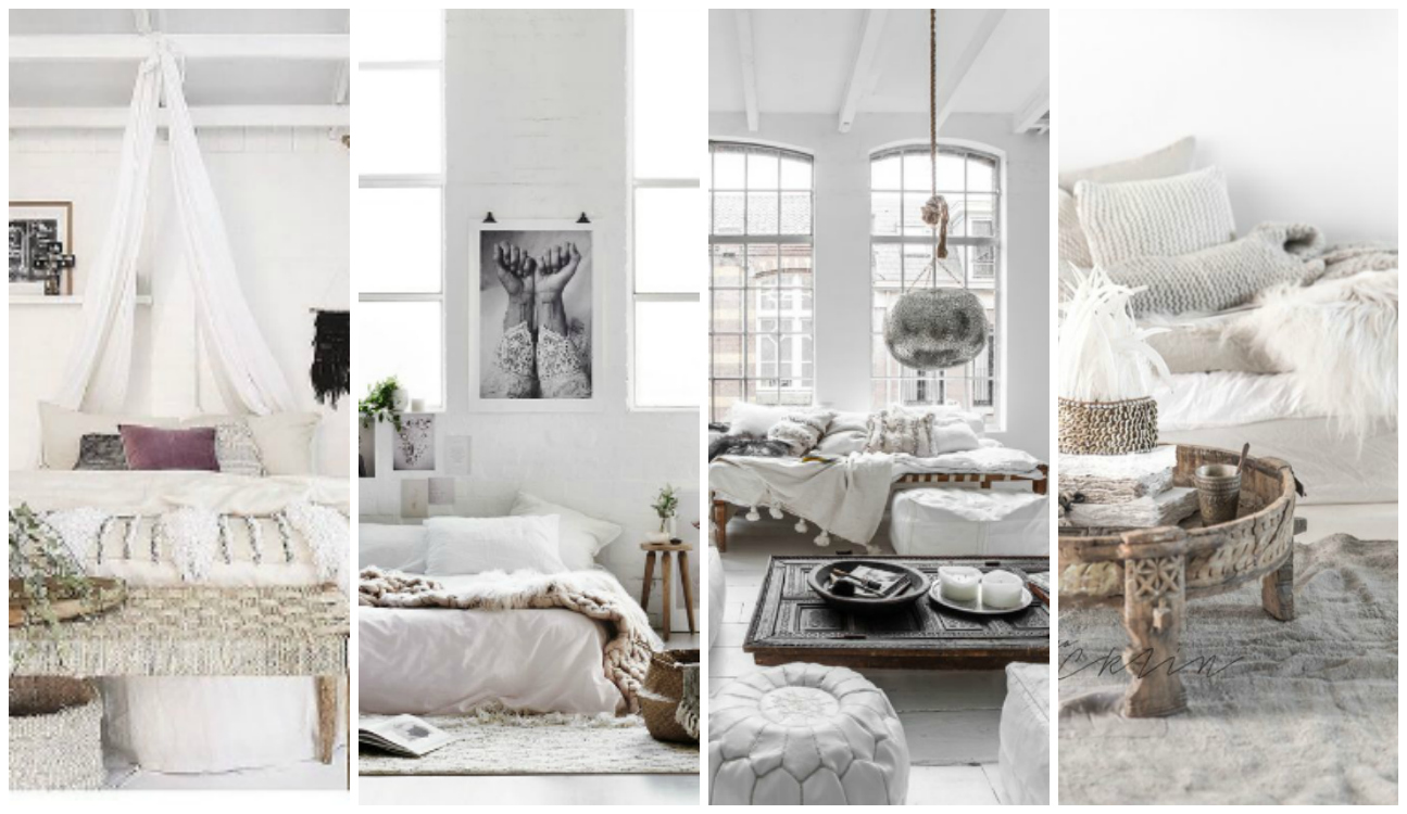Beautiful Bohemian Heaven {Fresh Boho Chic Home Decor Inspiration}