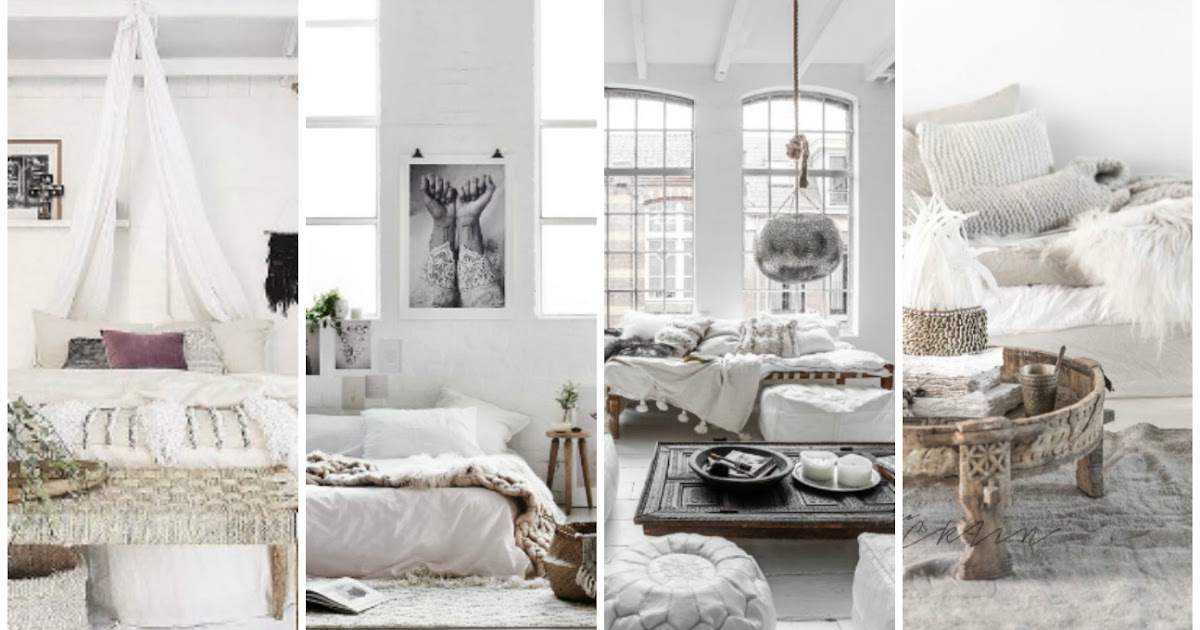 Minimalist Boho Home Decor: Bohemian Heaven {Fresh Boho Chic Home Decor Inspiration