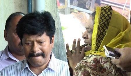 Rajkiran and his Wife Pay Last Respects to Veteran writer Balakumaran