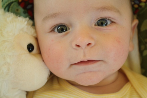 Cute Hazel Eyes Baby Wallpaper