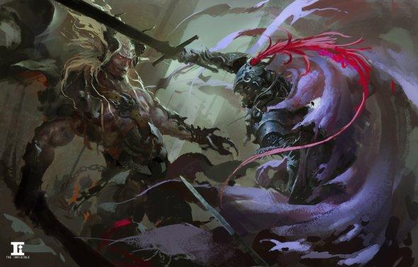 Kylin Li artstation ilustrações fantasia ficção científica oriental dragões magia guerreiros chineses