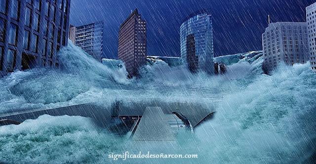 soñar con inundaciones