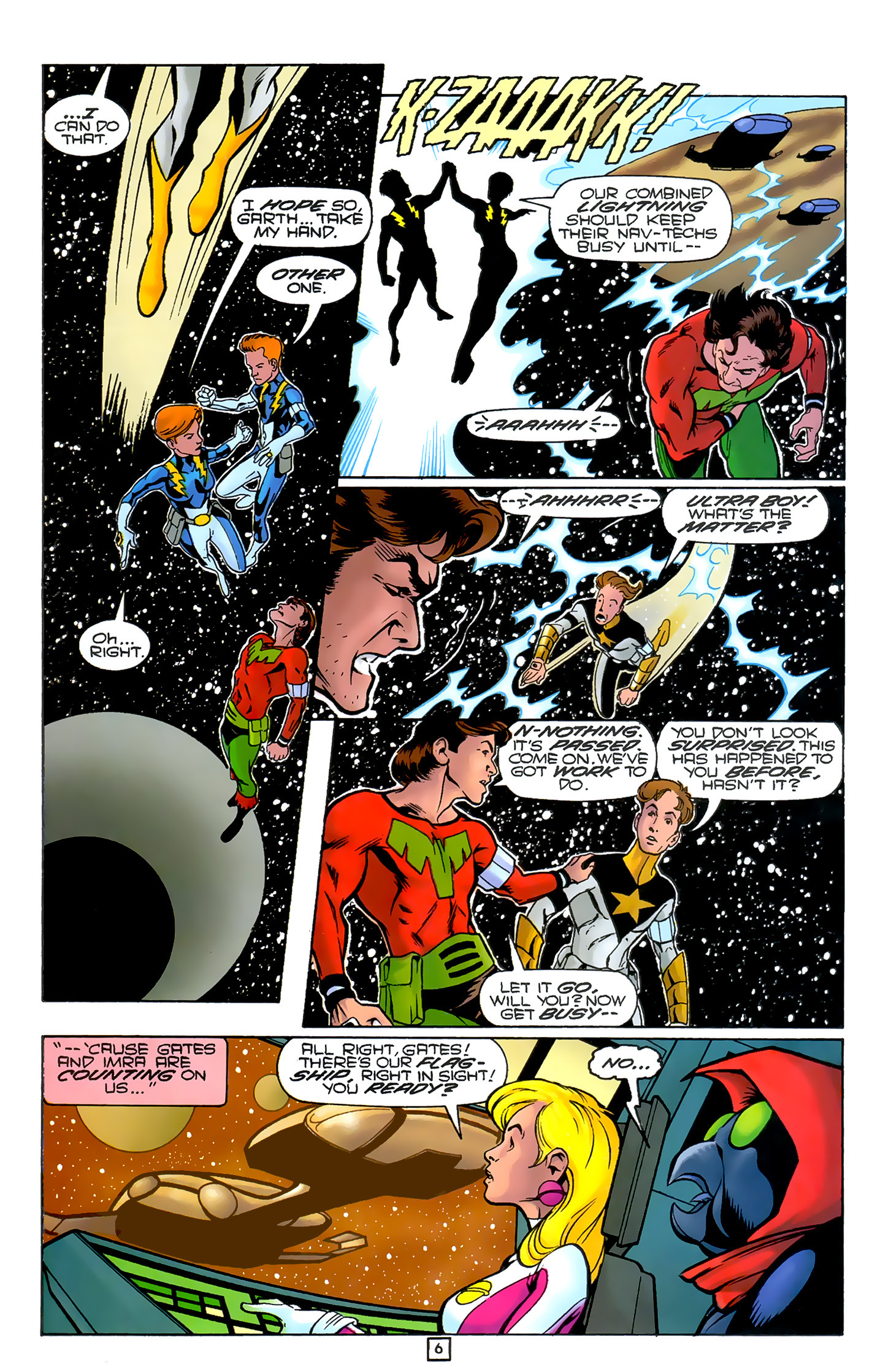 Legion of Super-Heroes (1989) 80 Page 5