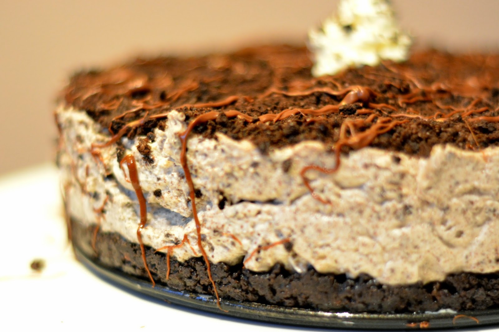 No-Bake Nutella and Oreo Cheesecake Recipe