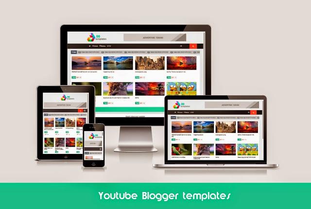 Youtube Responsive Blogger Templates | Free Video Blogger Templates