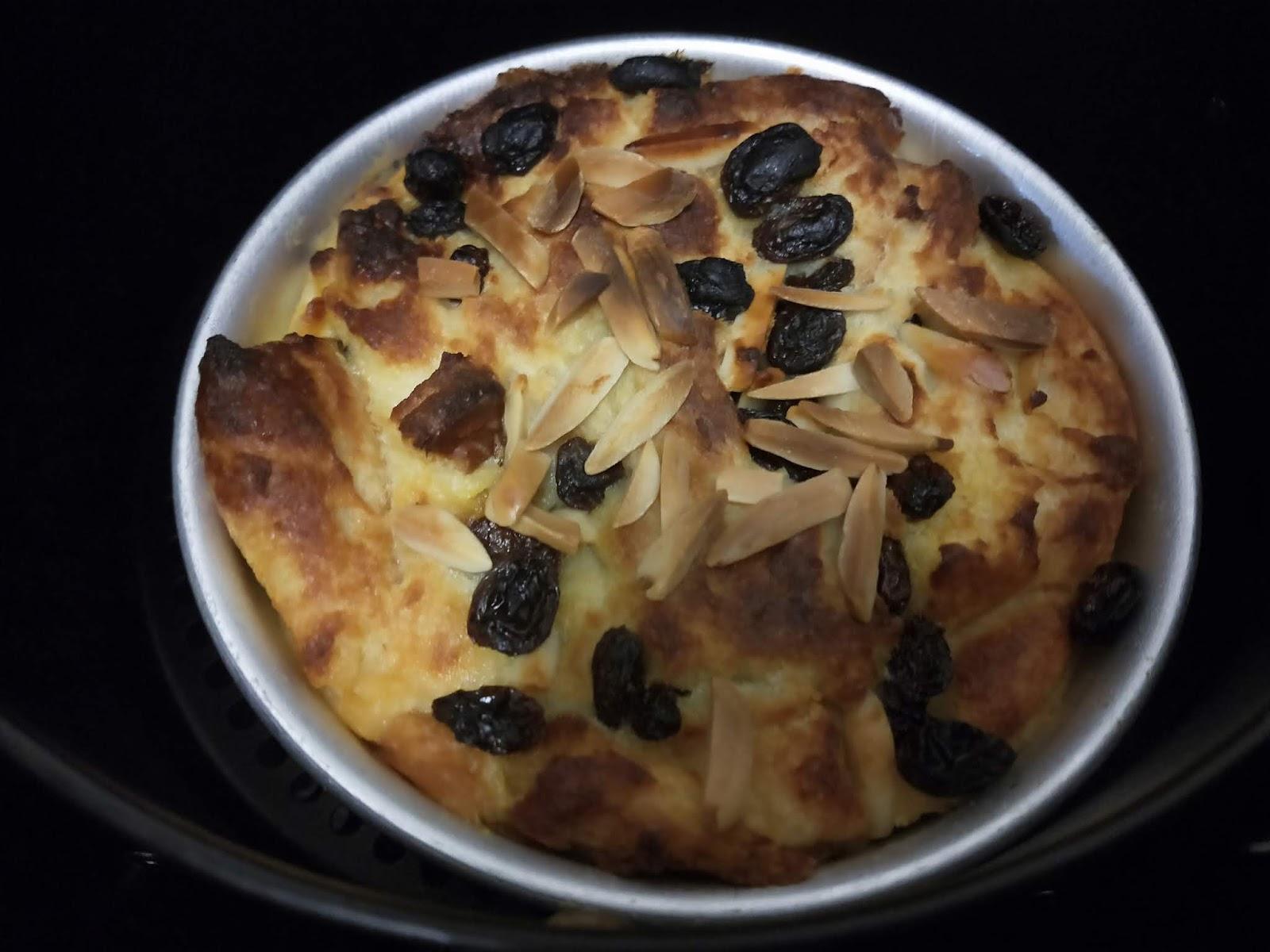 resepi puding roti air fryer sos kastard ieyracom Resepi Puding Roti Air Fryer Enak dan Mudah