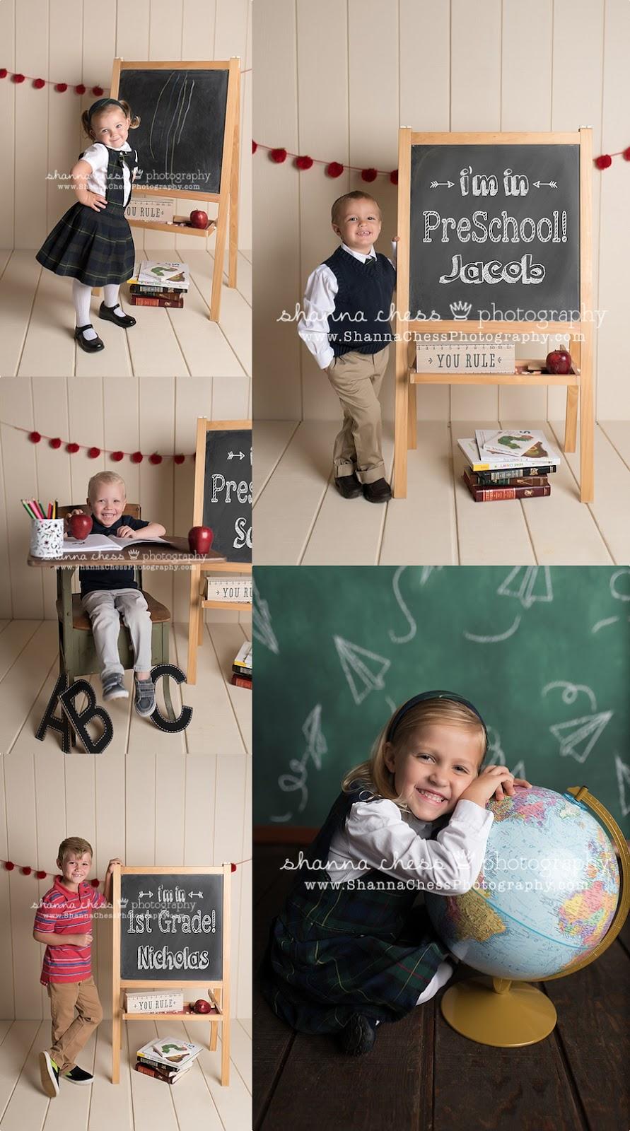 eugene oregon child photography back to school