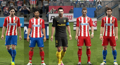 PES 2013 Club Atlético de Madrid 2016-17 GDB by Vulcanzero