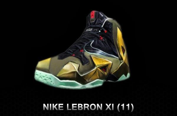 3c4731dff292 NBA 2K14 Nike LeBron XI Shoes Patch - NBA2K.ORG