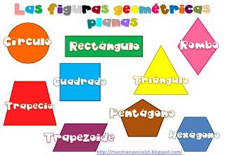 Resultado de imagen de figuras geometricas infantil