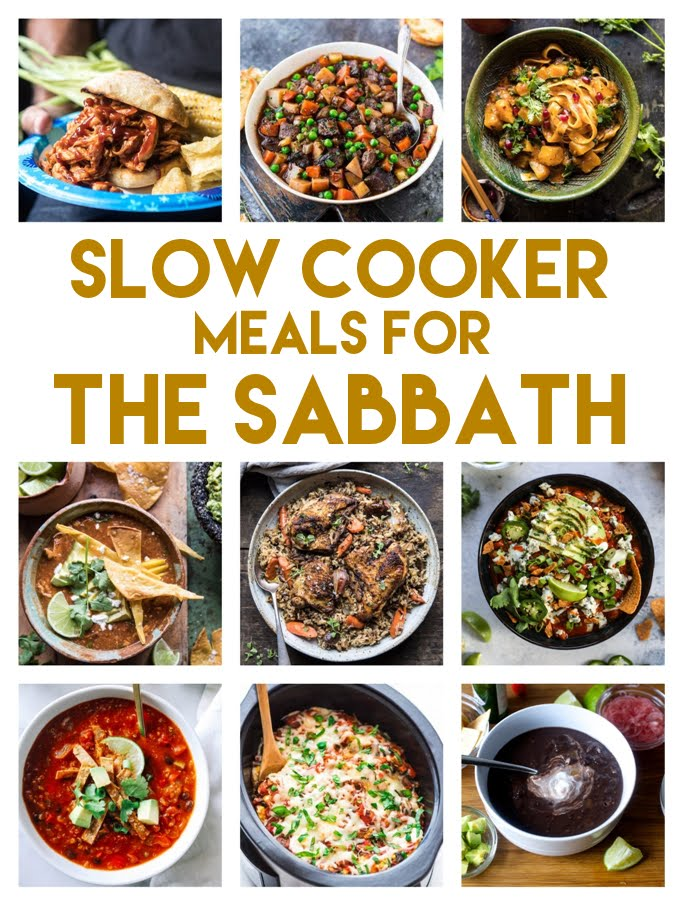 Slow Cooker Sabbath Meals