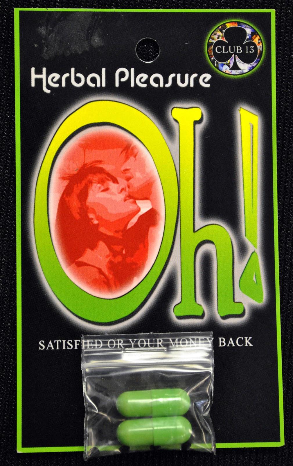 Smokin Js: Oh! Herbal Pleasure Pills Review