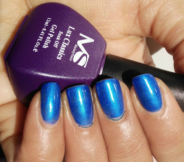Melody Susie Sapphire lux classic one step gel polish