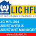 Apply LIC HFL 265 Assistants & Assistant Manager Vacancy Detailed Information
