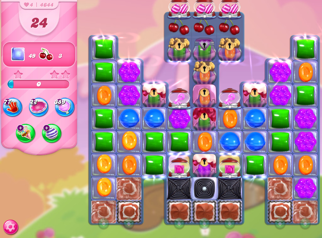 Candy Crush Saga level 4644