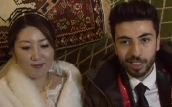 Güney Kore'den Hakkari'ye Evlenmeye Geldi