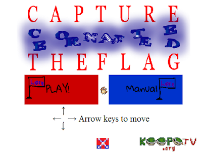Capture the Confederate Flag playable UI user interface title screen
