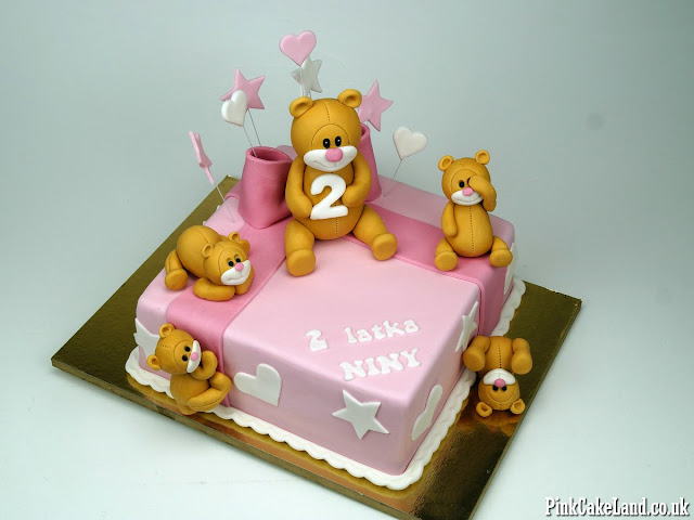 teddies party time cake london