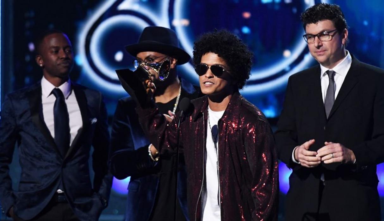 Grammys 2018: Bruno Mars el ganador de la noche