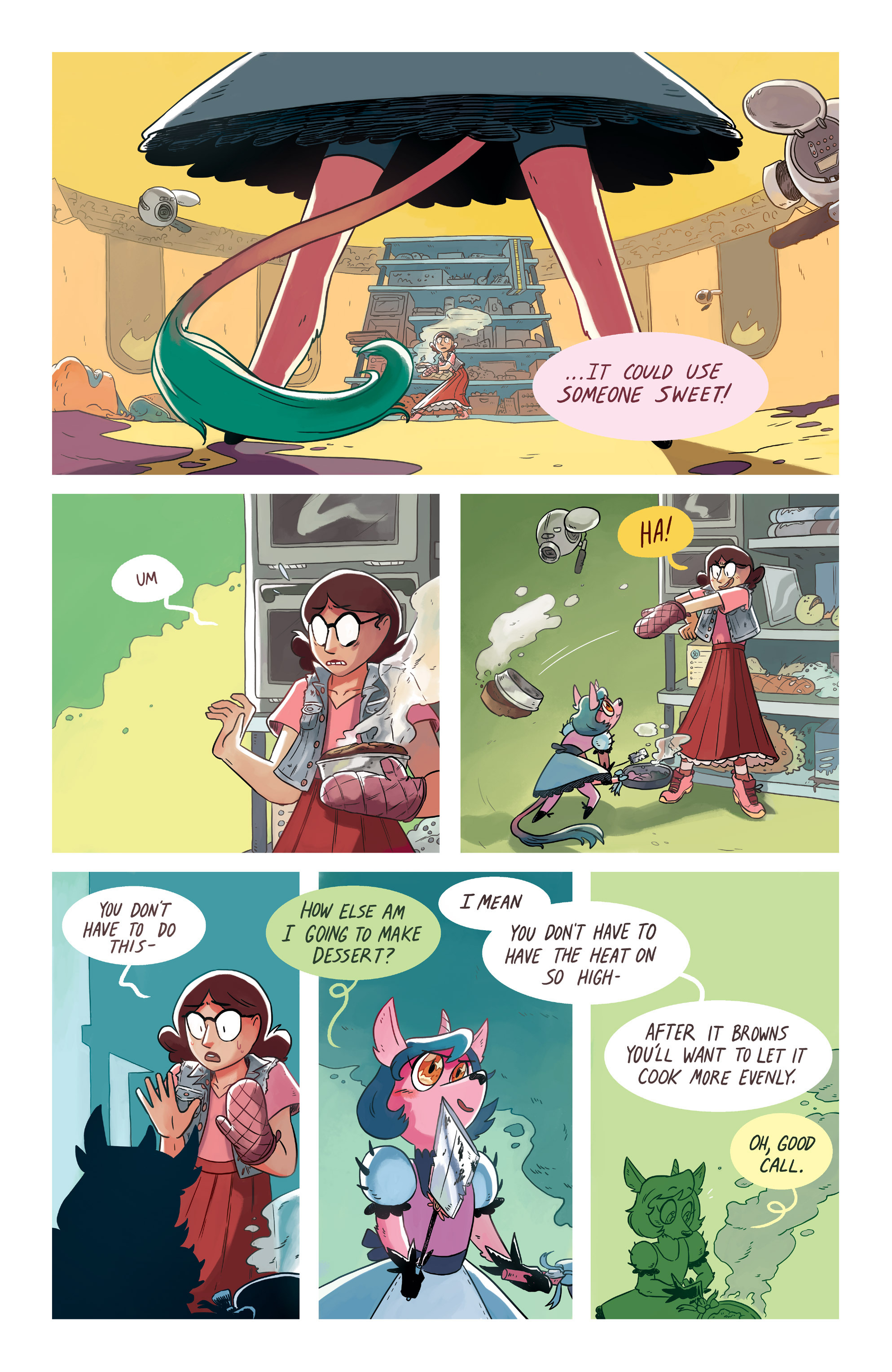 Read online Space Battle Lunchtime comic -  Issue #6 - 18