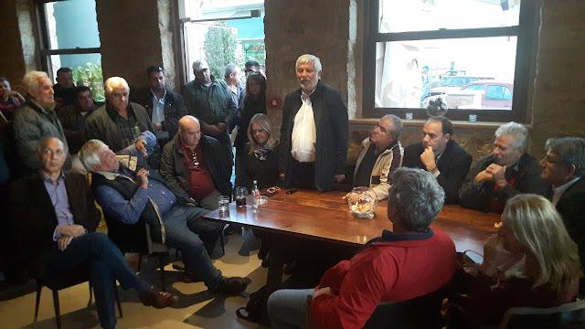 Συνάντηση Περιφερειάρχη Πελοποννήσου με πολίτες Δήμου Ευρώτα για την αντιμετώπιση των καταστροφών από τα ακραία καιρικά φαινόμενα