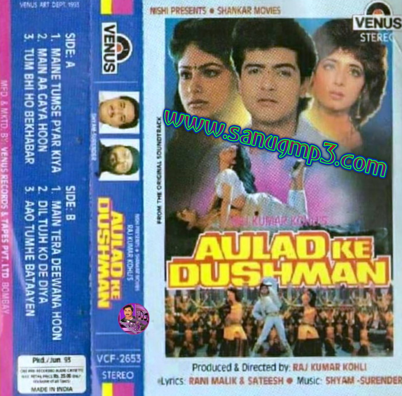 Only Kumar Sanu Mp3 Songs Download Here Aulad Ke Dushman 1993