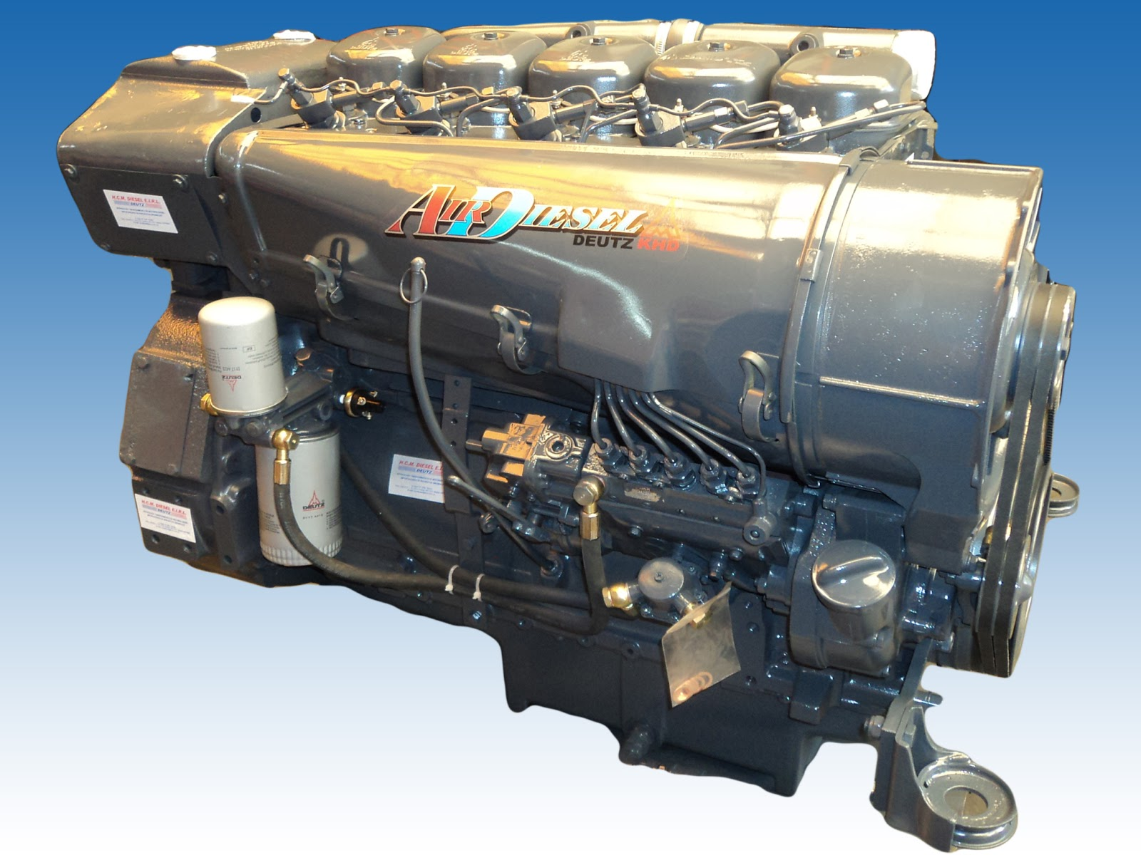 Manual de Motor deutz 1011