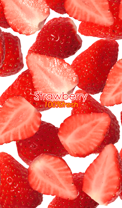 Strawberry 100% fresh