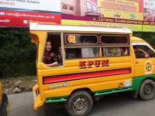 Angkutan/kendaraan umum di kota Medan - Angkot / sudako