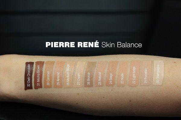 Pierre rene skin balance cover wodoodporny podkład kryjący