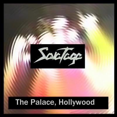 Soundaboard Savatage The Palace Hollywood 1990
