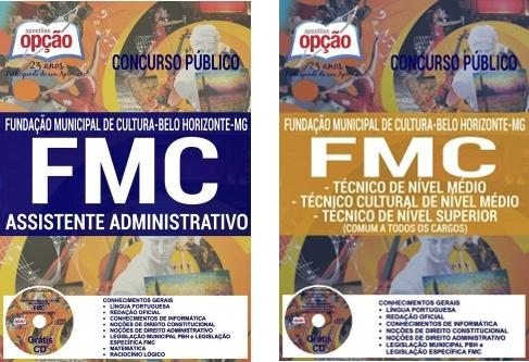 Apostila Concurso FMC BH Belo Horizonte 2016/2017