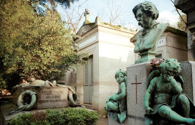visiter le cimetière du Père-Lachaise