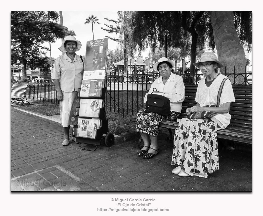 Plaza Mayor de Santiago de Surco, Surco Viejo - Lima (Perú)