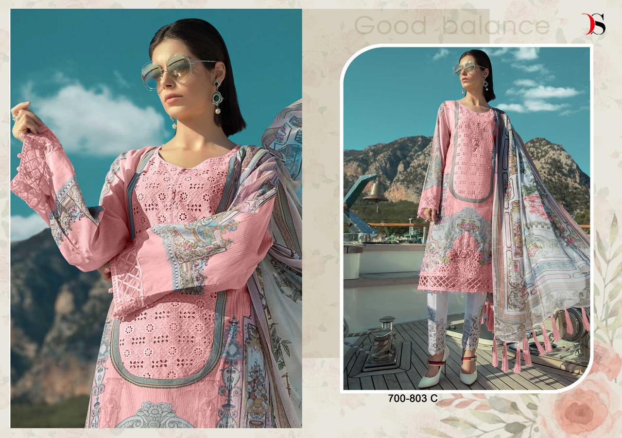 9a886e33a5 Deepsy Maria b Lawn 19 Platinum Pakistani Suits wholesale - Diwan ...