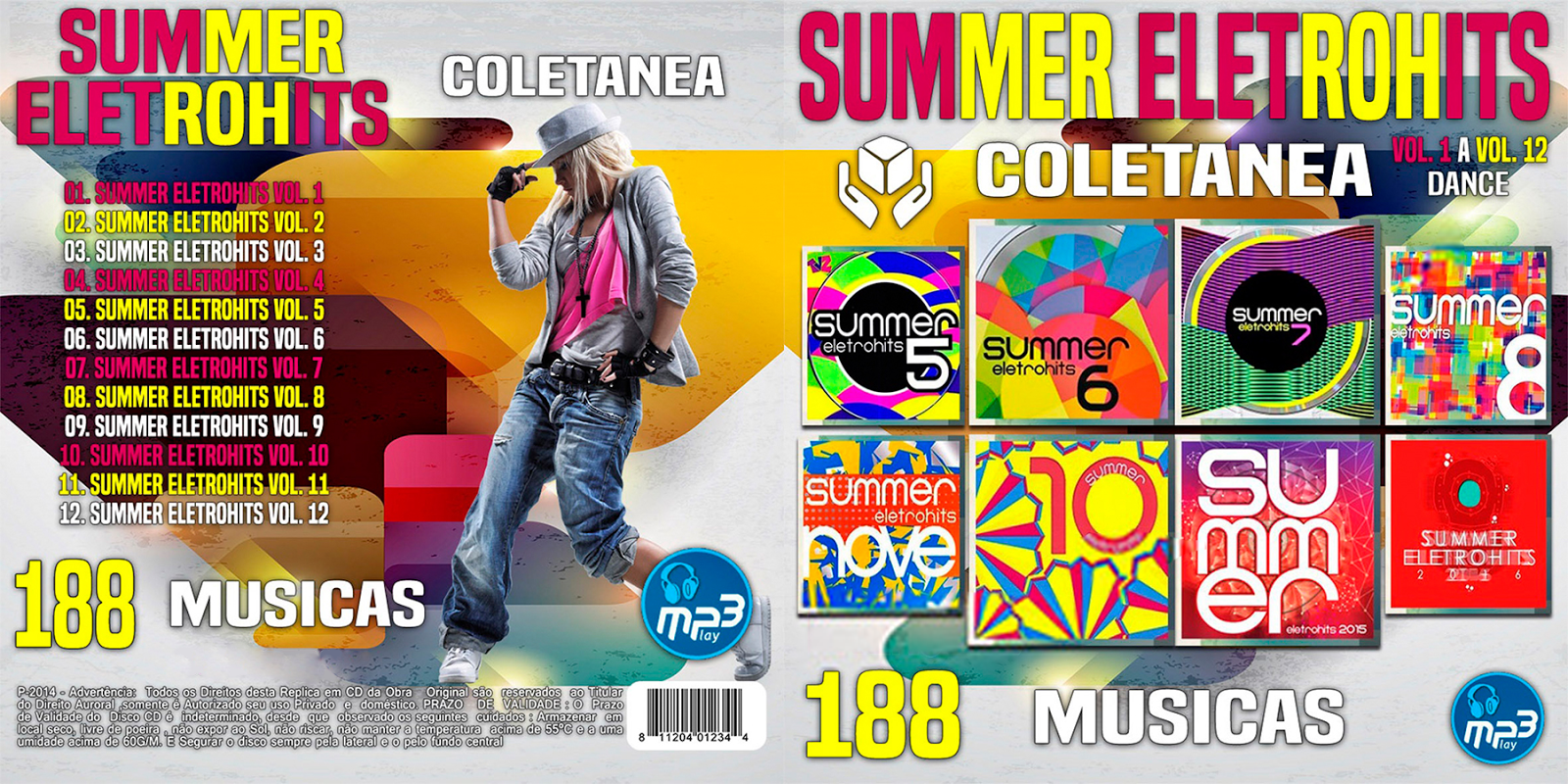 cd completo summer eletrohits 1