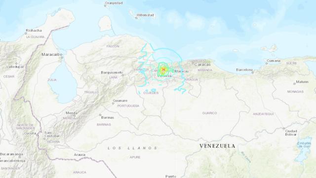 ULTIMA HORA Sismo de magnitud 5,5 y otro de 5,0 sacuden Venezuela